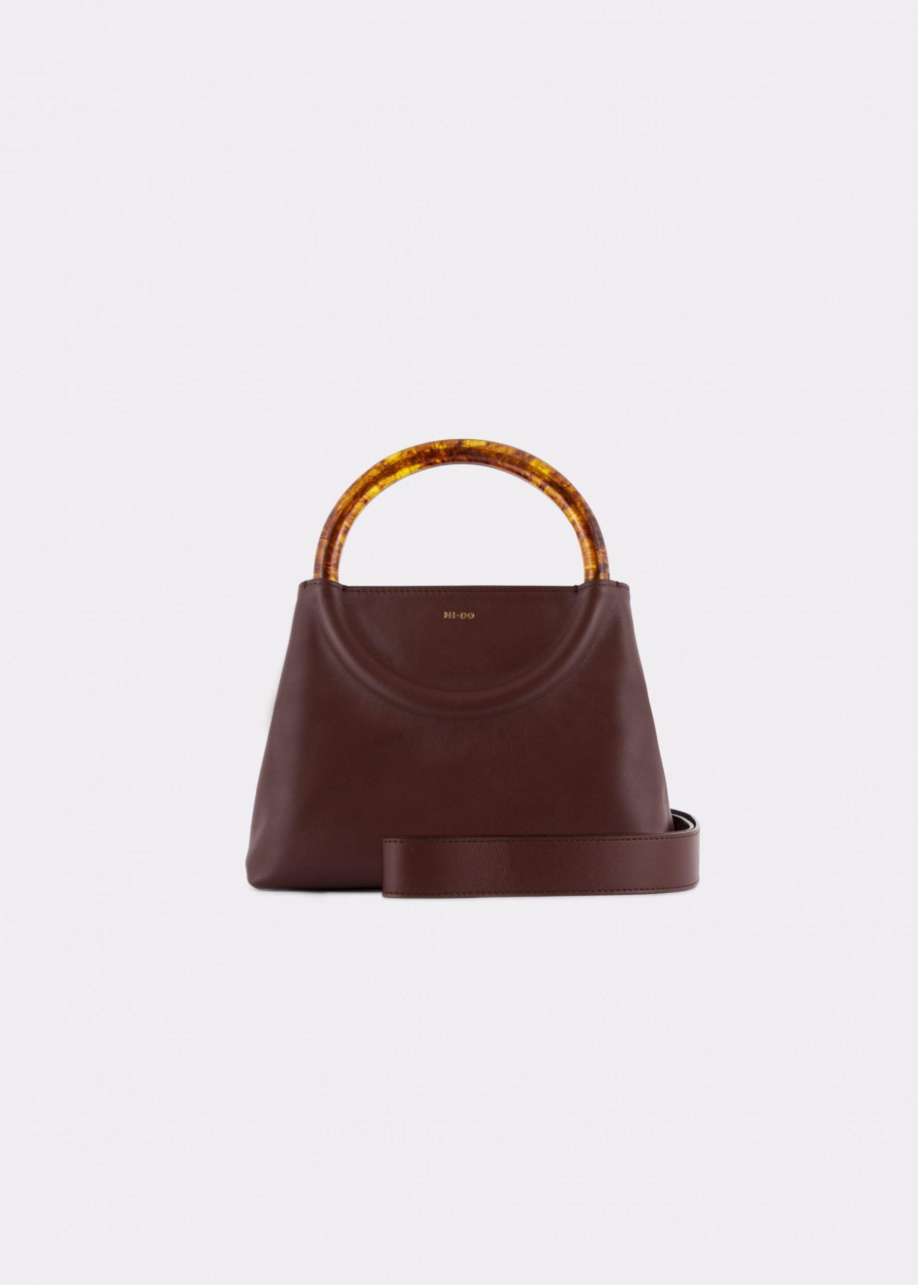 NIDO Bolla Mini Chestnut/Amber_ shoulder strap view