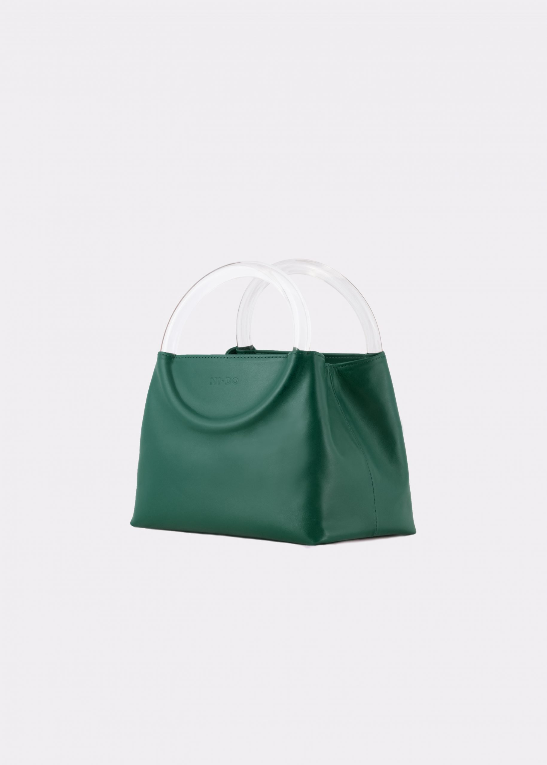 NIDO Bolla Mini Emerald Green/Plexy_side view
