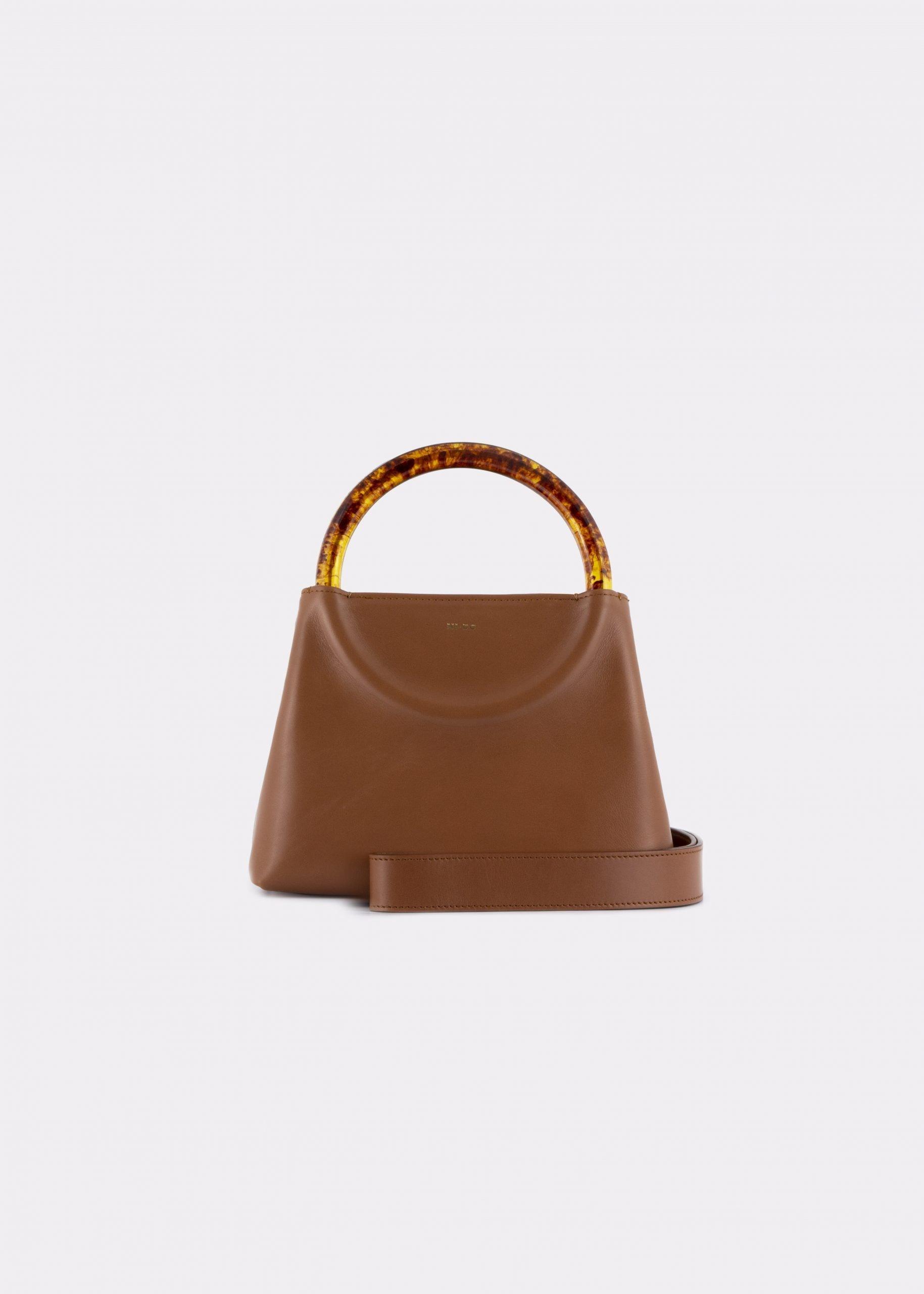 NIDO Bolla Mini Biscuit/Amber_ shoulder strap view
