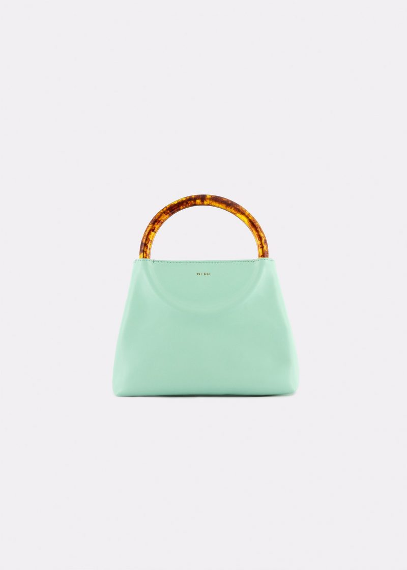 NIDO Bolla Mini bag pastel sky/Amber front