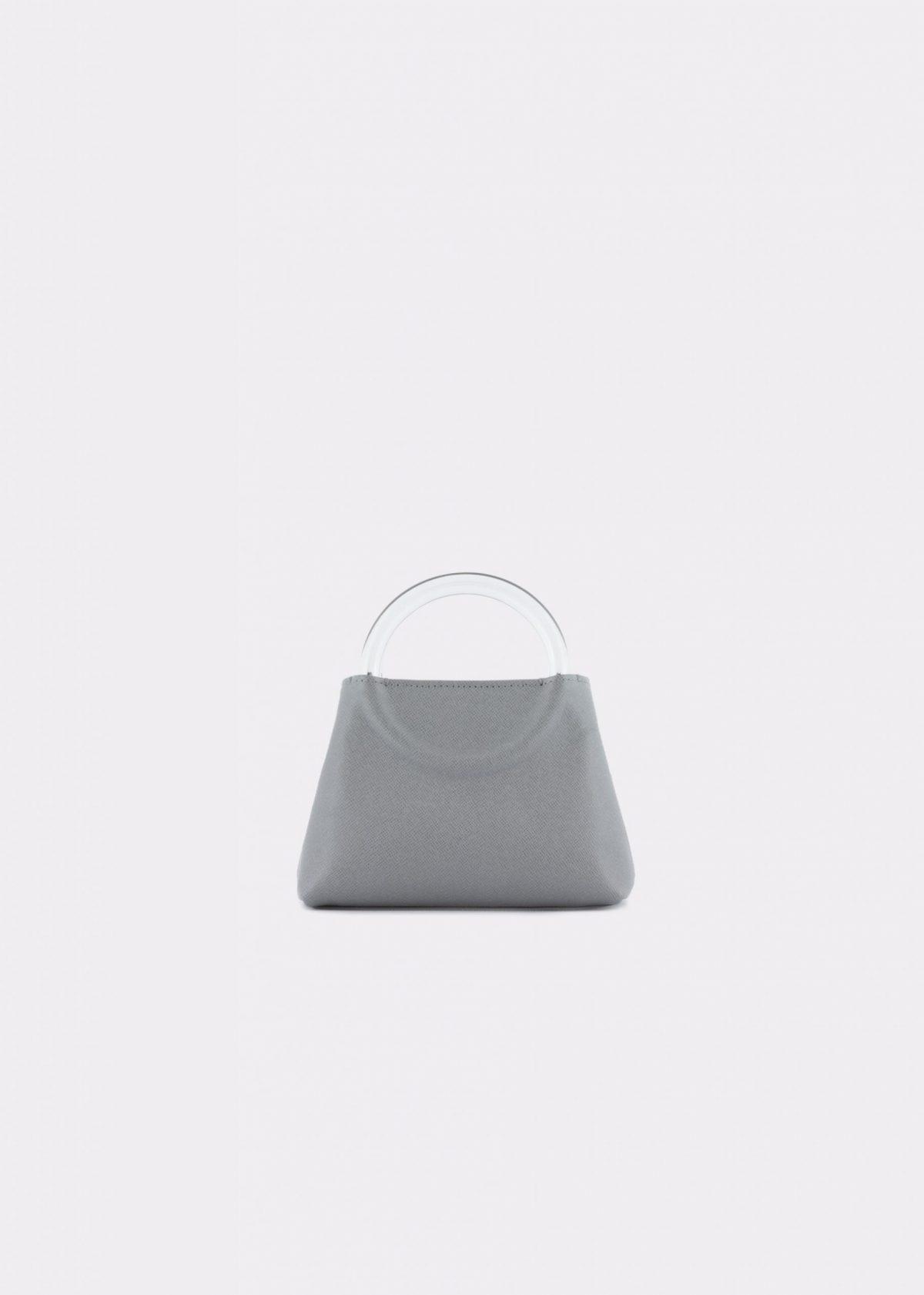 NIDO-Bolla_Micro-bag-Gray_front view