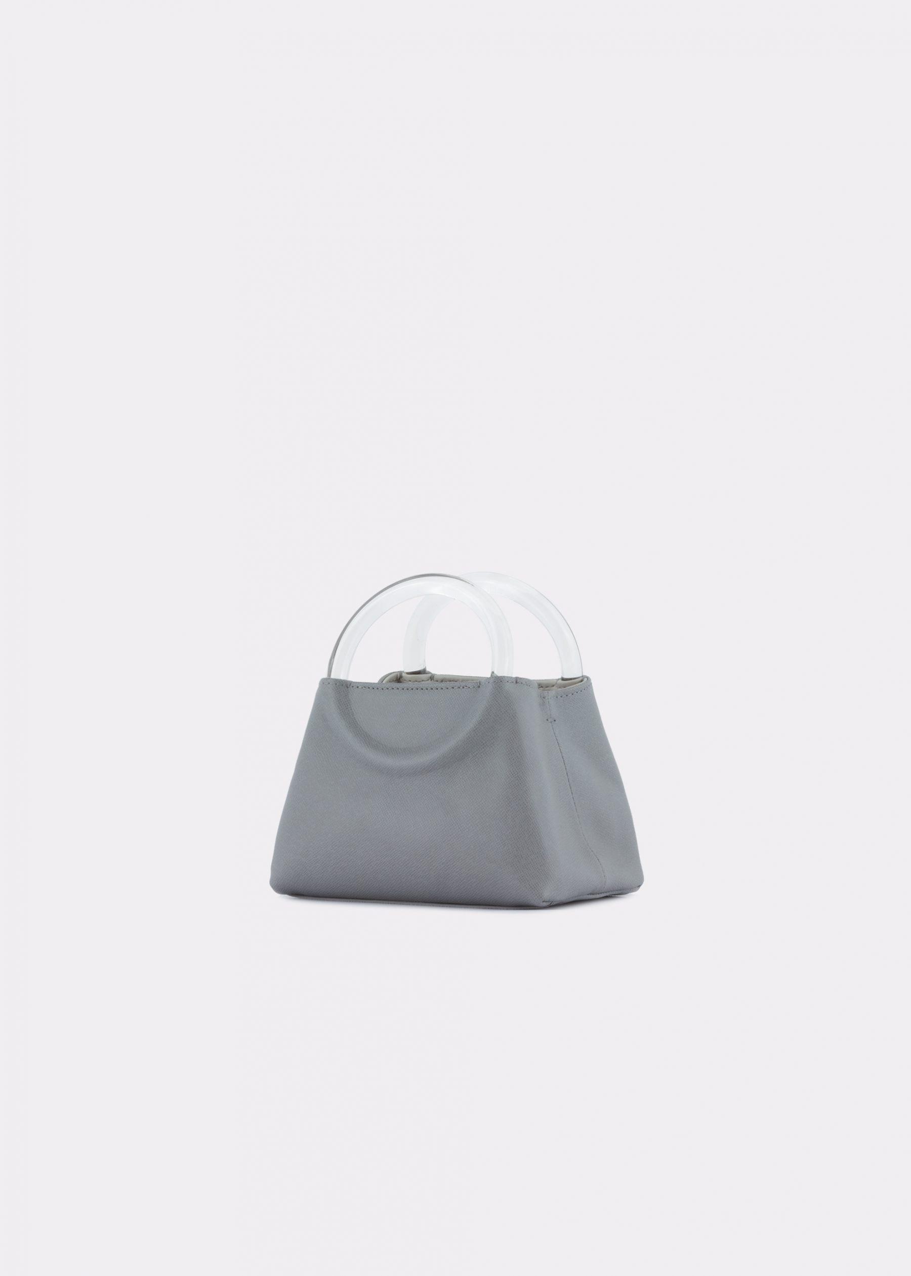 NIDO-Bolla_Micro-bag-Gray_side view