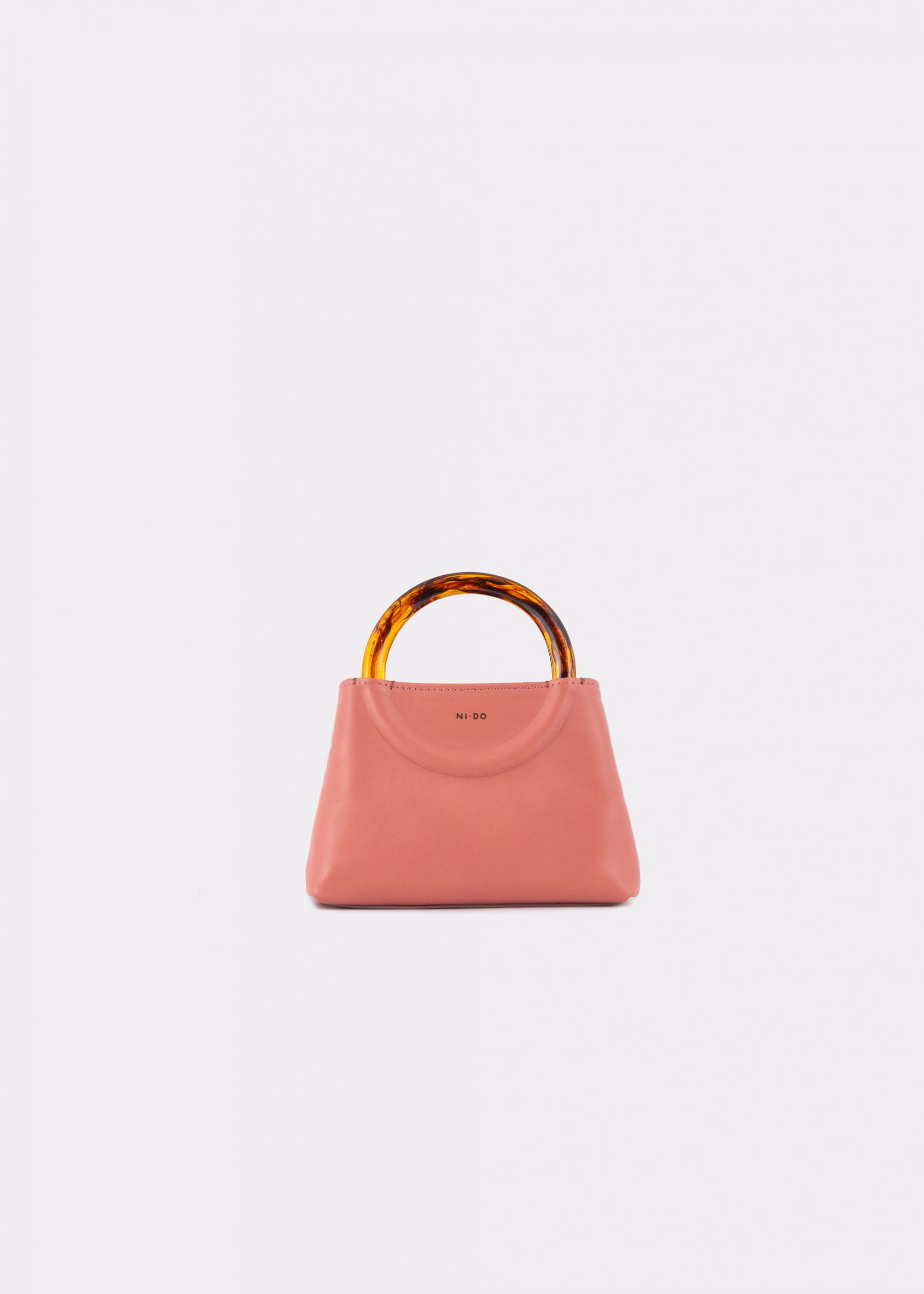 NIDO-Bolla_Micro-bag-blush_front view
