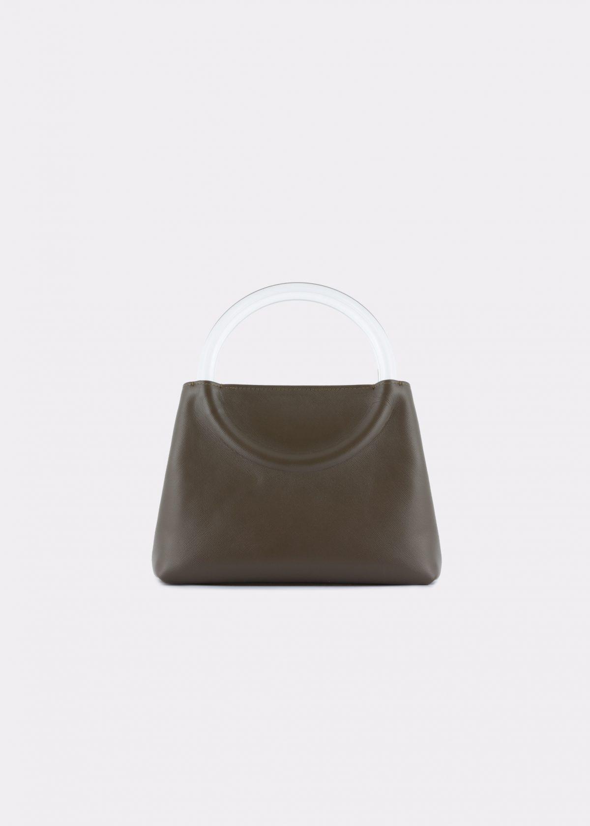 NIDO-Bolla_Mini-bag-Olivegreen_FRONT view