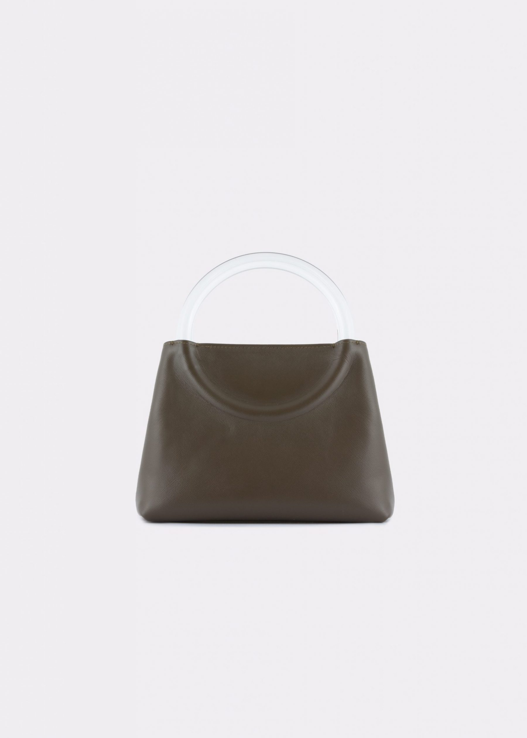NIDO-Bolla_Mini-bag-Olivegreen_FRONT view