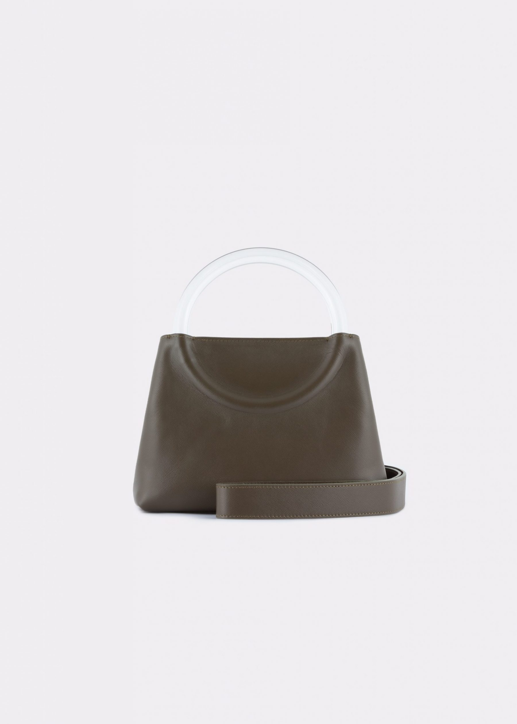NIDO-Bolla_Mini-bag-Olivegreen_shoulderstrap view