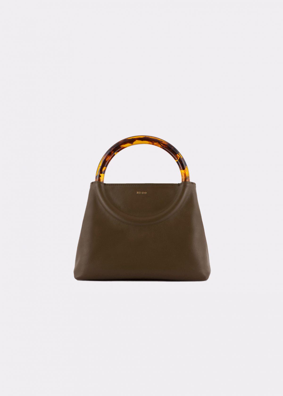 NIDO Bolla Mini bag Olive front view