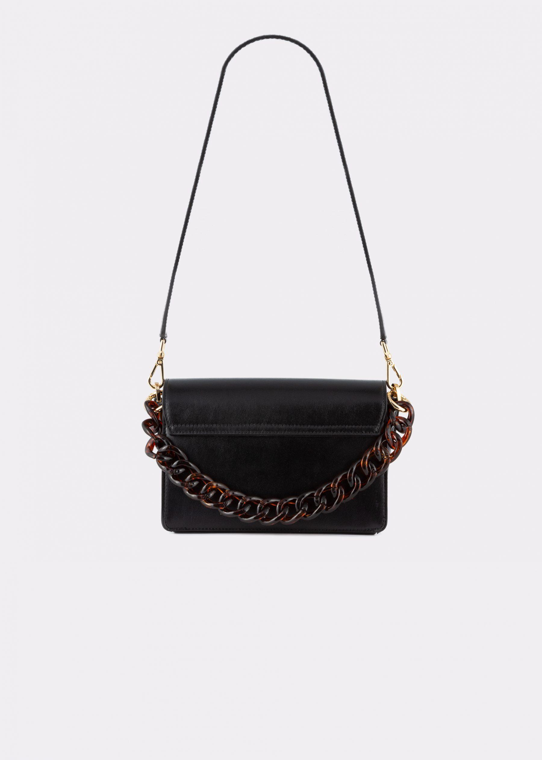 NIDO Cuore Mini bag Black back view