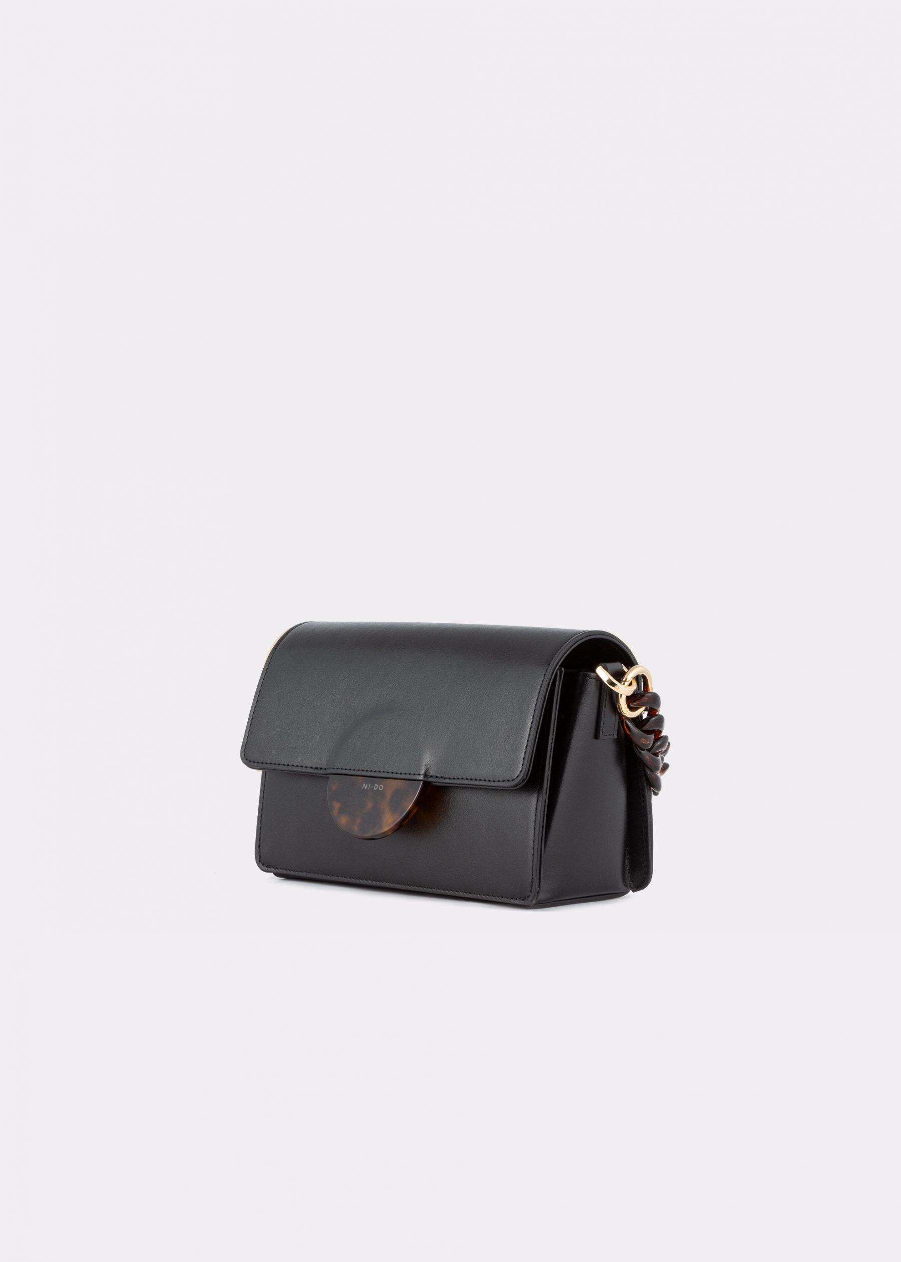 NIDO Cuore Mini bag Black side view
