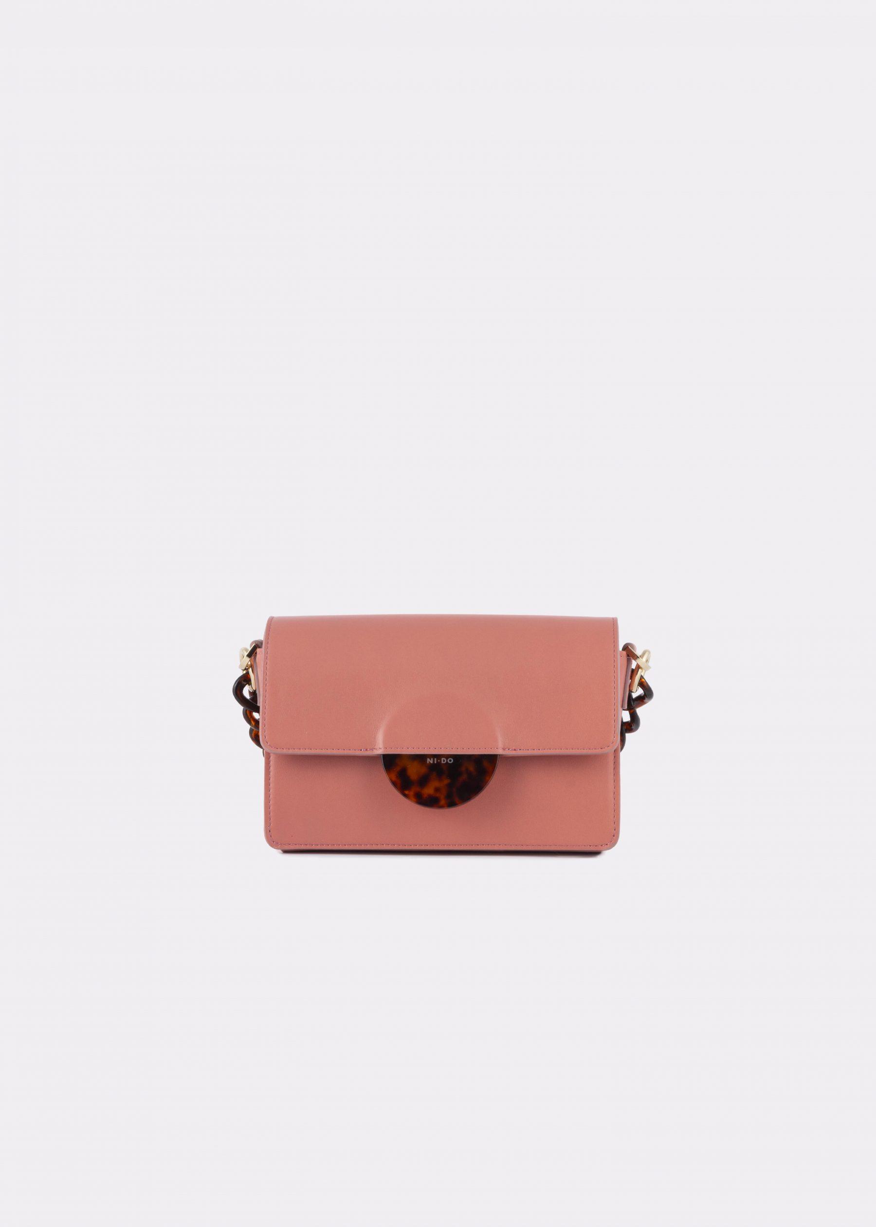 NIDO Cuore Mini bag Blush front view