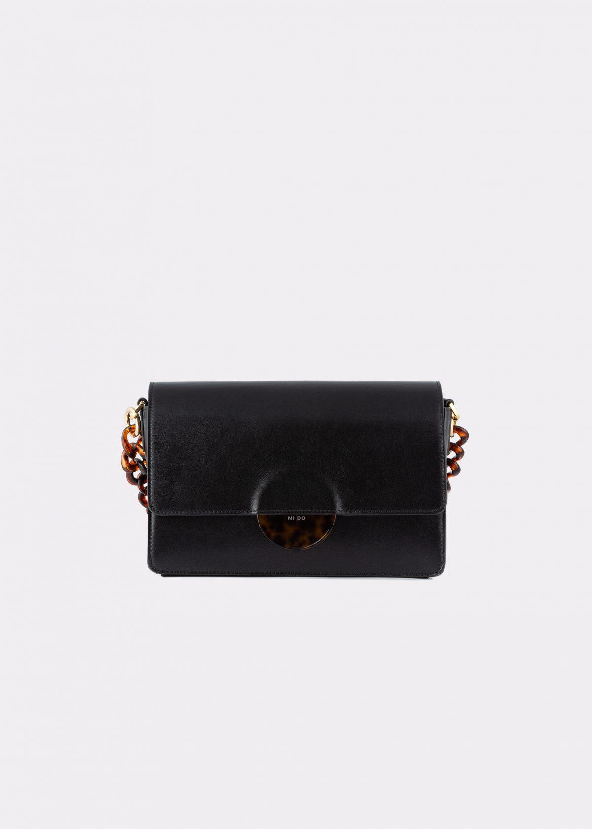 NIDO Cuore_Maxi bag black front view