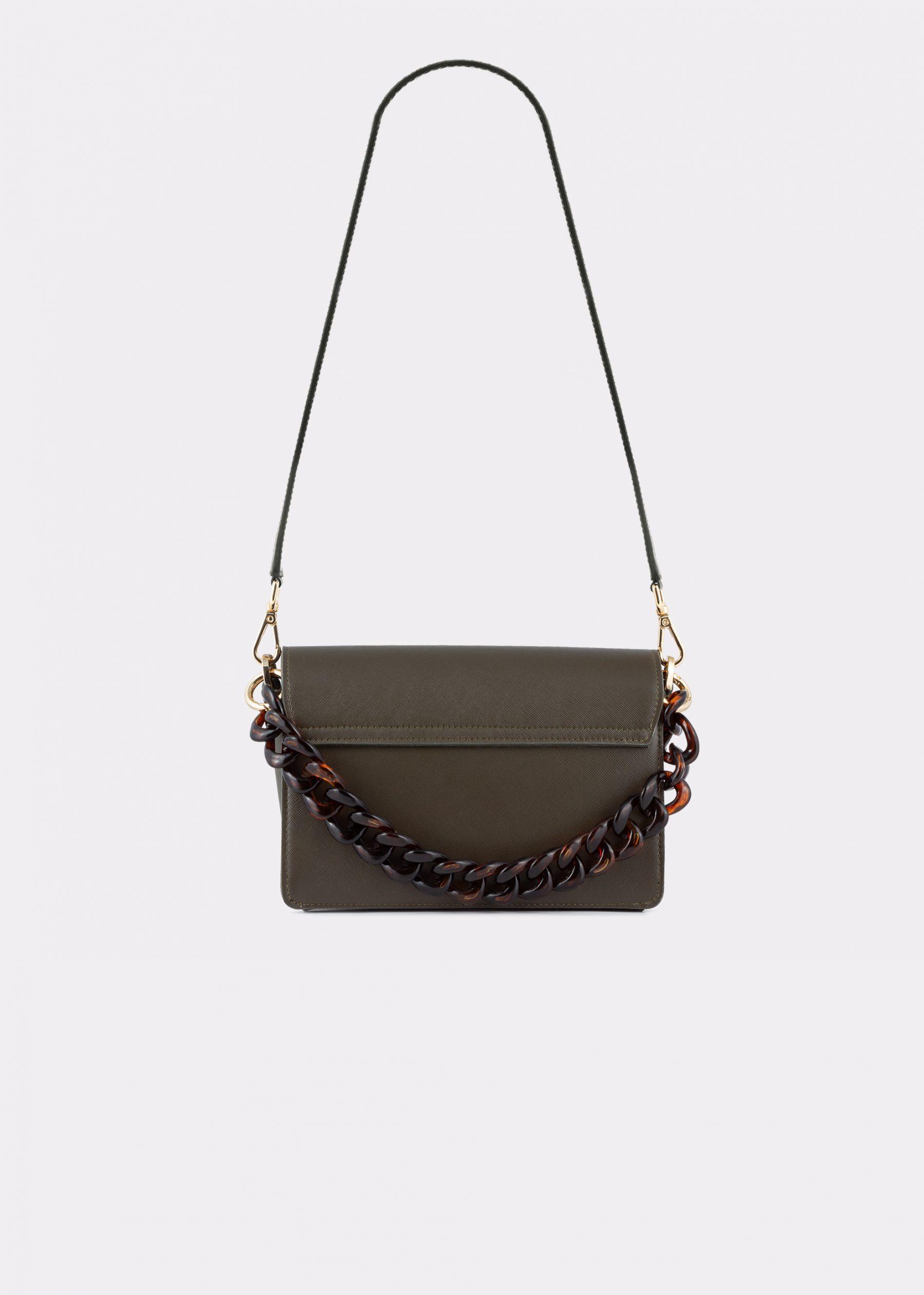 NIDO-Cuore_Mini-bag-Olivegreen_back view