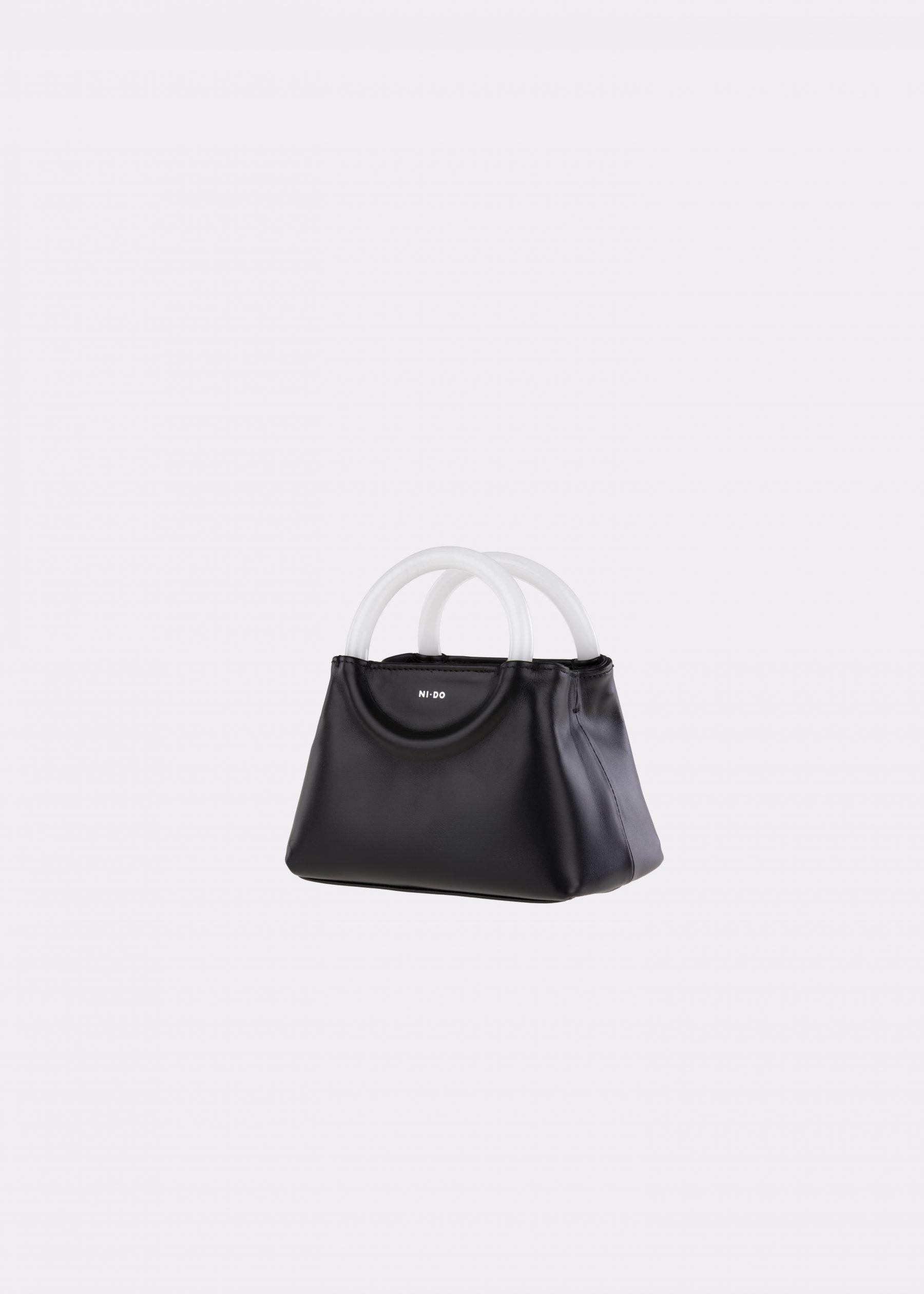 NIDO-Bolla_Mini-bag-Black-Pearl_side view