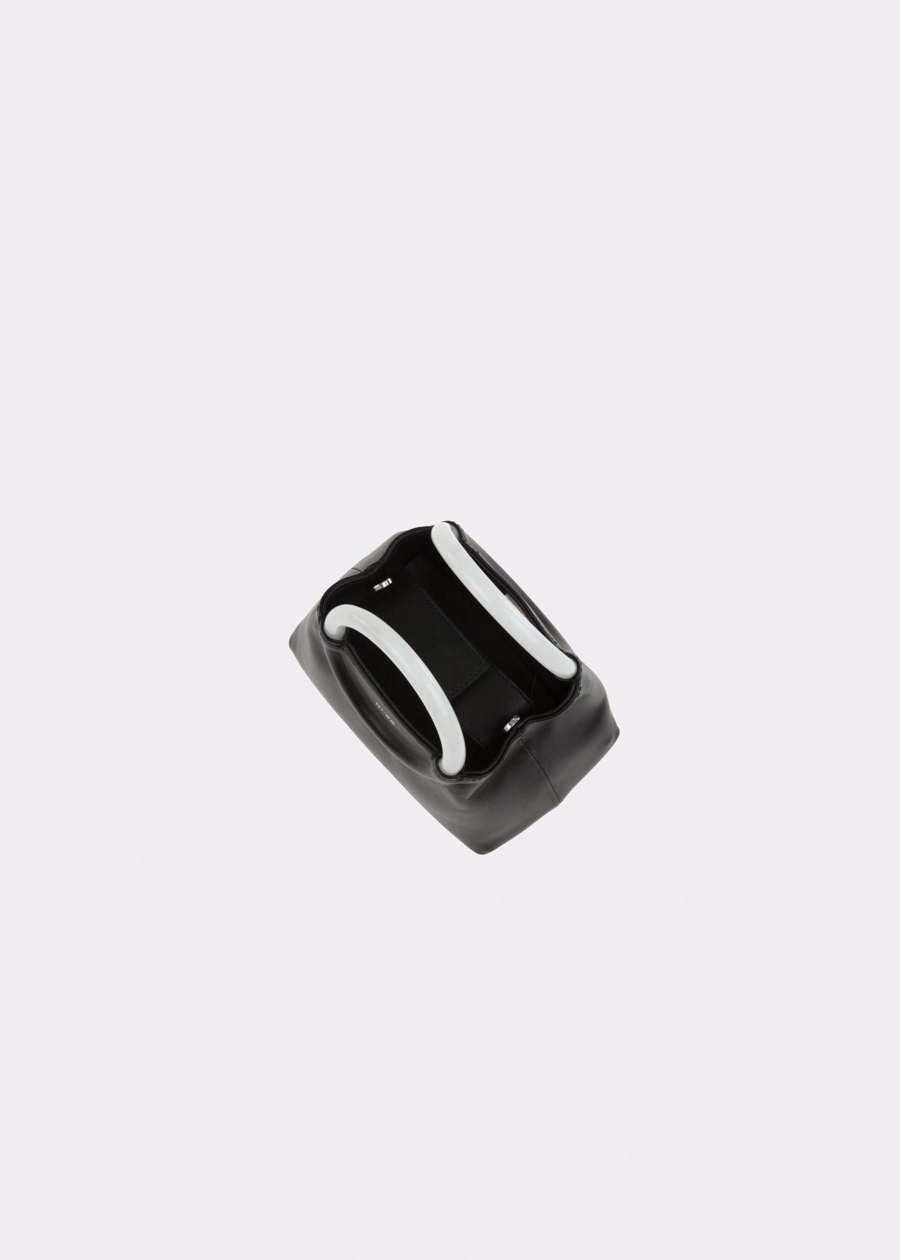 NIDO-Bolla_Mini-bag-Black-Pearl_top view