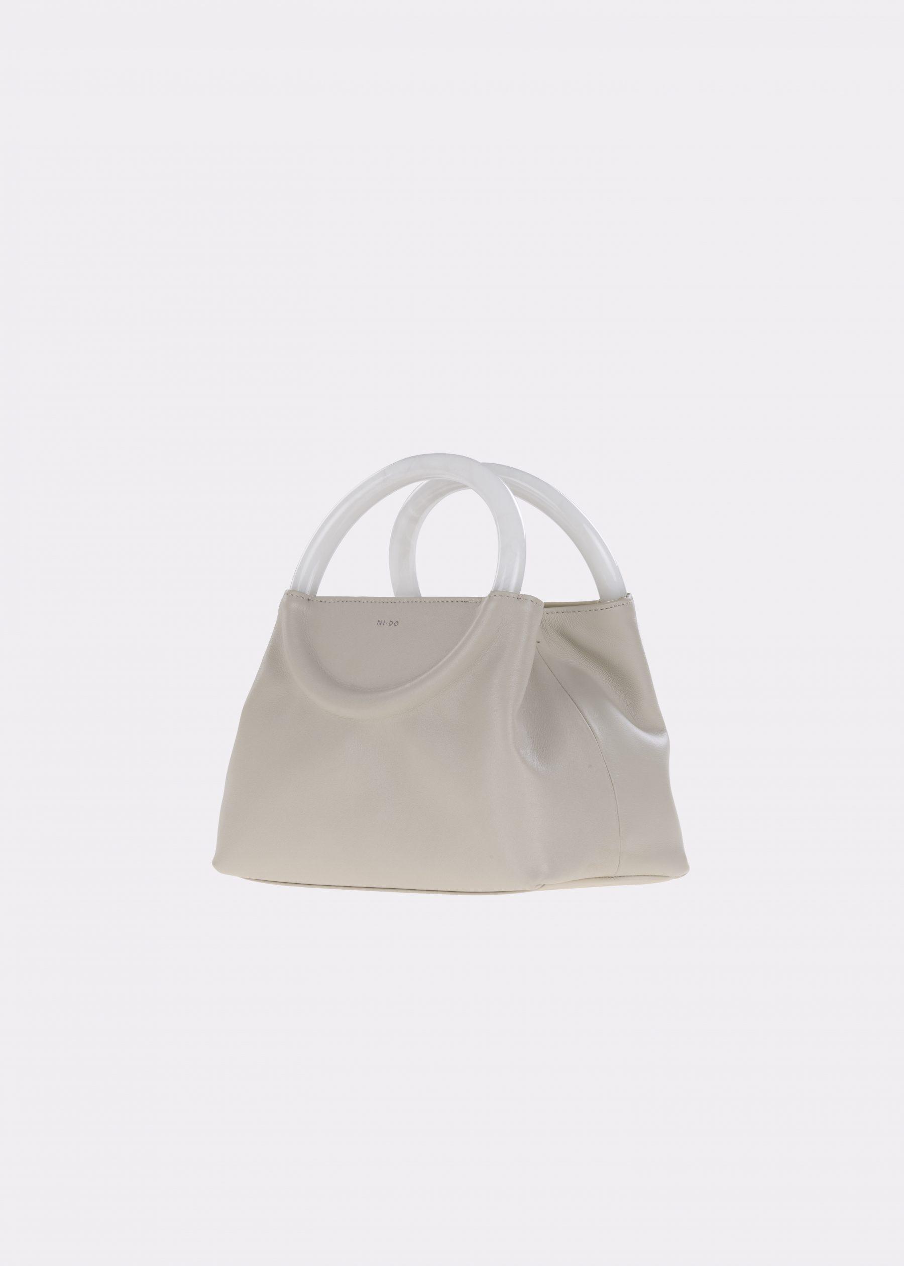NIDO-Bolla_Mini-bag-Ice-Pearl_side view