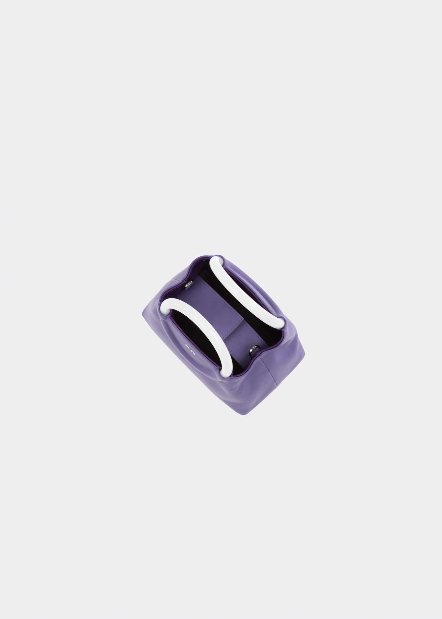 NIDO-Bolla_Mini-bag-Violetta-Pearl_top view