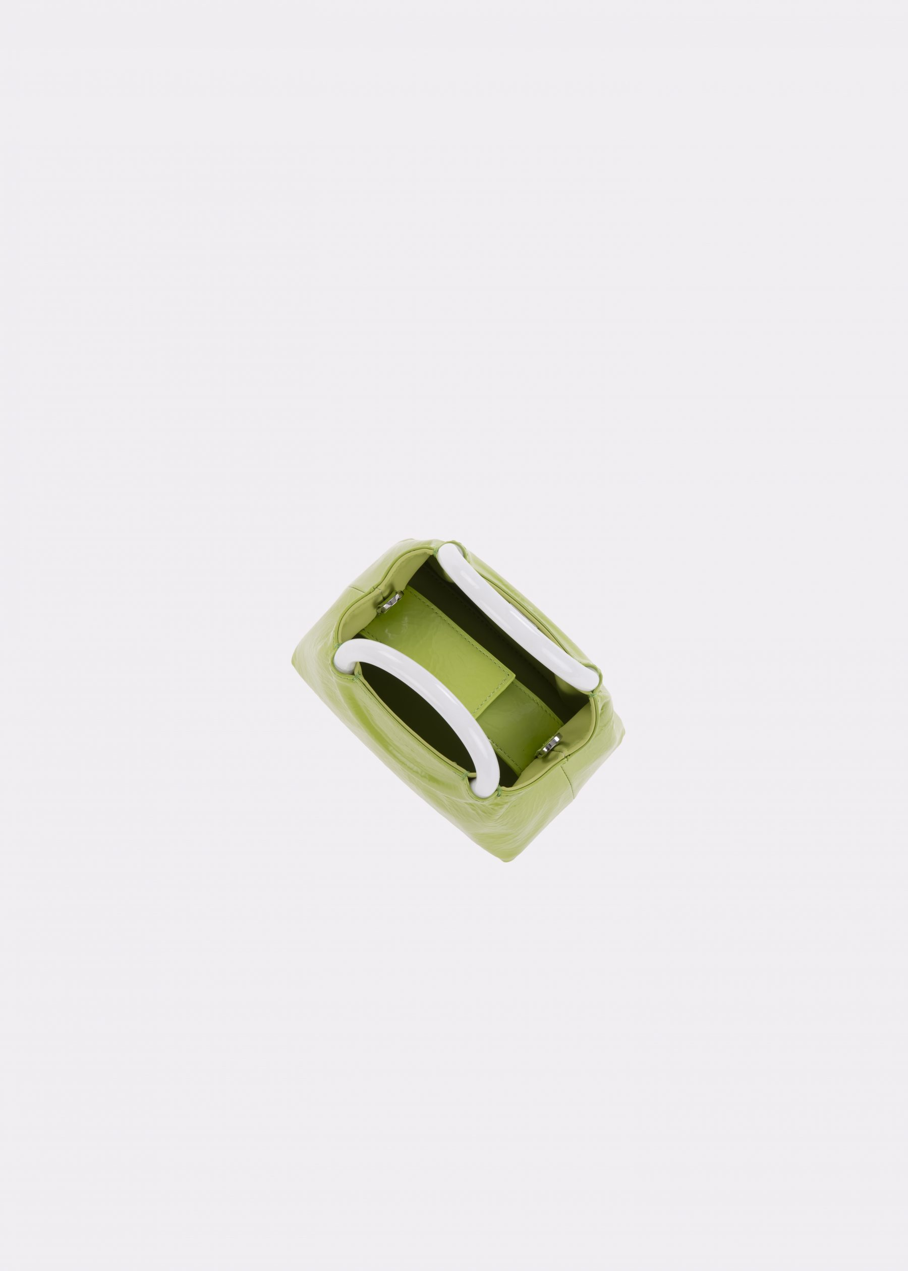 NIDO-Bolla_Mini-bag-apple-Pearl_top view